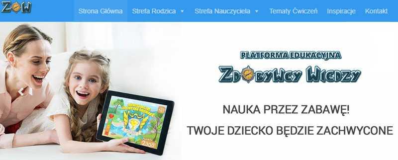 ZdobywcyWiedzy.pl - strona główna