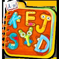 Nauka literek dla dzieci - naucz dziecko alfabetu