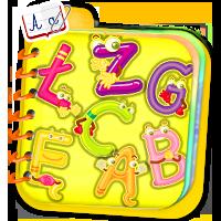 Nauka literek online - naucz dziecko alfabetu raze
