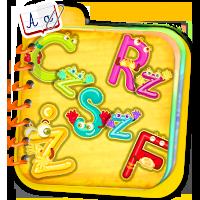 Uczymy się literek - naucz dziecko alfabetu razem