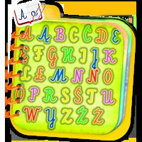 Alfabet dla dzieci - naucz dziecko alfabetu razem