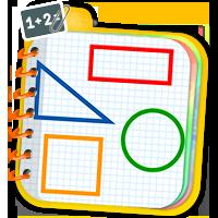 Geometria dla dzieci - ćwiczenia matematyczne - Zd