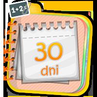Nauka kalendarza - ćwiczenia matematyczne - Zdobyw