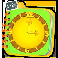 Nauka zegara - ćwiczenia matematyczne - ZdobywcyWi