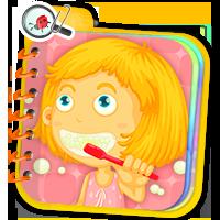 Zdrowy styl życia dla dzieci - ćwiczenia online -