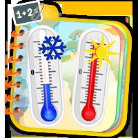 Zadania z termometrem klasa 2 - quizy matematyczne