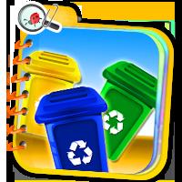 Zasady segregowania odpadów - quizy z przyrody - Z