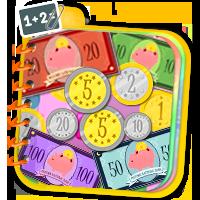 Nauka liczenia pieniędzy - ćwiczenia matematyczne