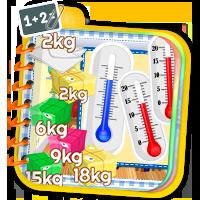 Nauka termometru- ćwiczenia matematyczne - Zdobywc
