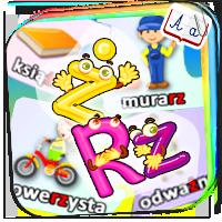 Wyrazy z rz i ż - nauka ortografii dla dziecka - Z
