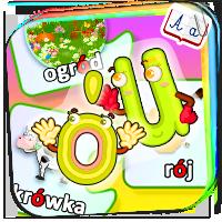 Wyrazy z ó i u - nauka ortografii dla dziecka - Zd