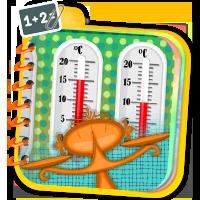 Zadania z termometrem i wagą - matematyka da się l