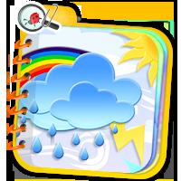 Pogoda dla dzieci - ćwiczenia online - ZdobywcyWie