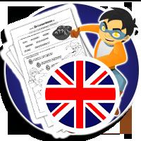Ćwicz angielski na kartach pracy - Karty pracy Angielski - KARTY PRACY