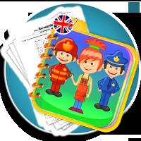 Zawody po angielsku ćwiczenia pdf - PROFFESSIONS karty pracy - Karty pracy Angielski