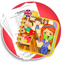 SZKOŁA - słownictwo angielskie dla dzieci - SCHOOL karty pracy - Karty pracy Angielski