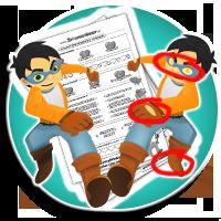 Karty pracy pdf Znajdź różnice - KARTY PRACY