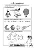 Kosmos zadania dla dzieci