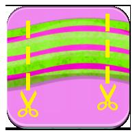 Jak mierzyć linijką - Tasiemka w kawałkach - Zdoby