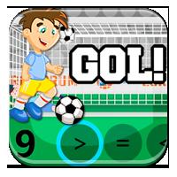Porównanie liczb - Matematyczny konkurs piłkarski