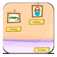 Ćwiczenia na czytanie - Podpisz ilustrację - Zdoby