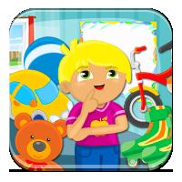 Kolorowe zabawki Jasia