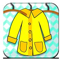 Żółty płaszcz mamy