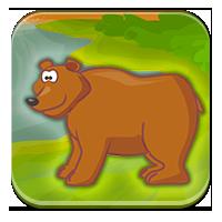 Ameryka Płn.: grizzly, puma, aligator, skunks.