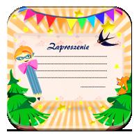 Nauka pisania zaproszenia - Zaproszenie na bal - Z
