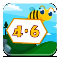 Tabliczka mnożenia do 30 - Mnóż razem z pszczołami