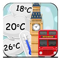 Obliczenia z temperaturą - W Londynie 10 stopni! -