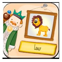 Zapamiętywanie liter - Władca zwierząt - ZdobywcyW