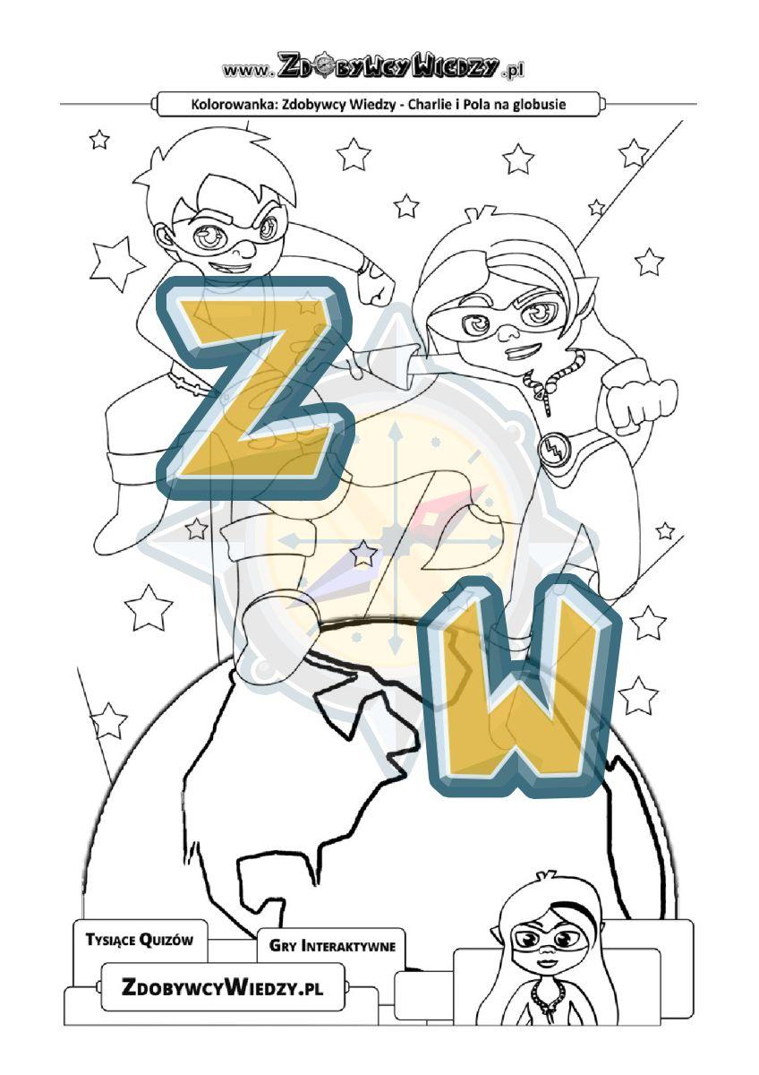 Zdobywcy Wiedzy - karta pracy pdf - Zdobywcy Wiedzy bawią, uczą i odpędzają nudę (strona 1)