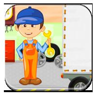 Przymiotnik w zdaniu - Ciężarówka z przymiotnikami