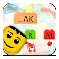 Budowanie wyrazów z liter - Mały słowotwórca - Zdo