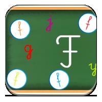Litery alfabetu dla dzieci - Literkowa rozsypanka