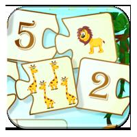 Gry liczenie dla 7 latka - Matematyczne puzzle - Z