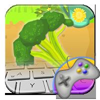 Warzywny mistrz klawiatury