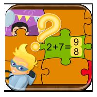 Liczenie do 10 - Dodawanie - puzzle matematyczne -