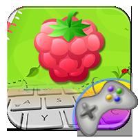 Owoce na klawiaturze