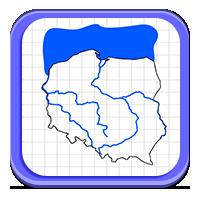 Polskie rzeki i jeziora - Wodna wykreślanka - Zdob
