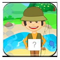 Ćwiczenia z głoskami - Litery i głoski nad rzeką -
