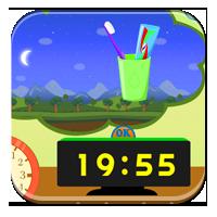 Zegar do nauki - Nastawiam zegar - Zdobywcy Wiedzy