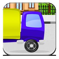Gry z odejmowania - Uciekająca ciężarówka odejmuje