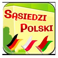 Flagi sąsiadów Polski - Sąsiedzkie flagi - Zdobywc