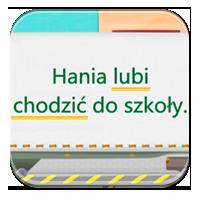 Czasowniki dla dzieci - Ciężarówka z czasownikami