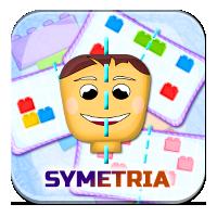 Symetria dla dzieci - Barwna symetria - ZdobywcyWi