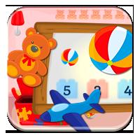 Gry liczenie dla dzieci - Policz zabawki - Zdobywc