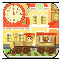 Stosowanie godzin i minut - Pociąg w dzień - Zdoby