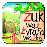 Ż niewymienne ćwiczenia - Żuk, wąż czy żyrafa? - Z